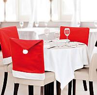 Новогоднее украшение для стула