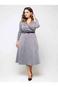Платье с люрексом с 50 по 56 размер
