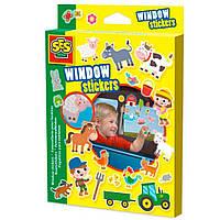 Набор для творчества SES Веселая ферма Набор наклеек на окна (14271S)
