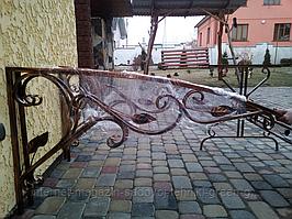 Козырек кованый (боковины 2 шт. х 1,5 м) навес