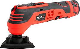 Реноватор многофункциональный аккумуляторный Yato Li-Lon 10.8 В 1.5 Ач + 2 аккумулятора и кейс