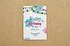 """Мини-открытка 010. 95*65 мм """"Happy birthday"""""""