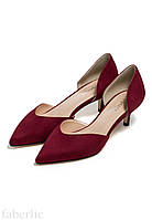 PMW032 Туфли D`Orsay темно-красные, размер 35