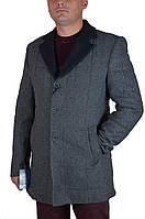 Полупальто мужское демисезонное DCS 5000 (54, серый)