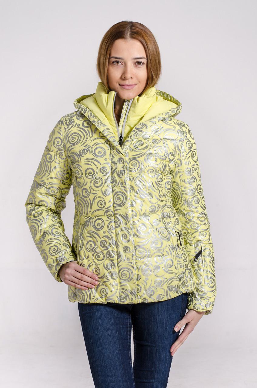 Зимняя куртка женская Avecs 7739649 желтый