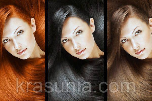 Выбор аромата в зависимости от цвета волос