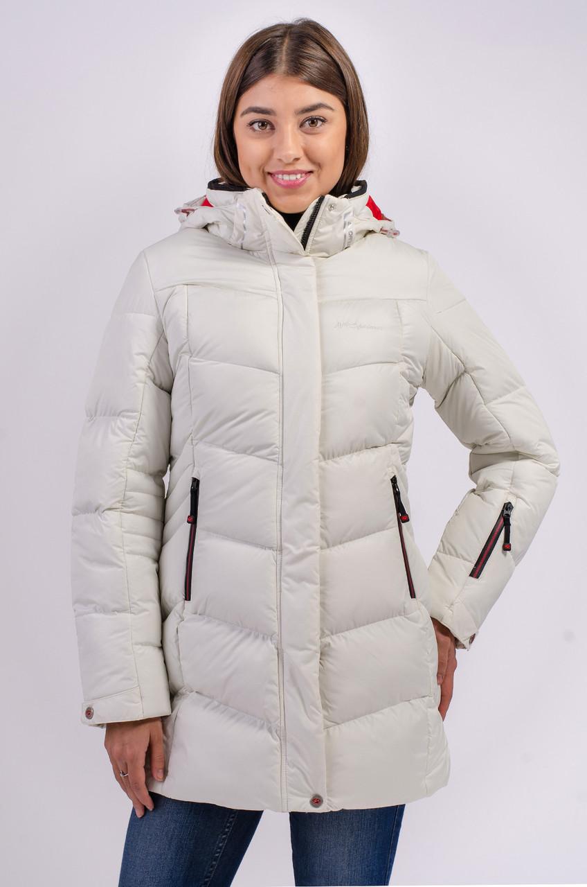 Зимняя куртка женская Avecs 7749811 белый