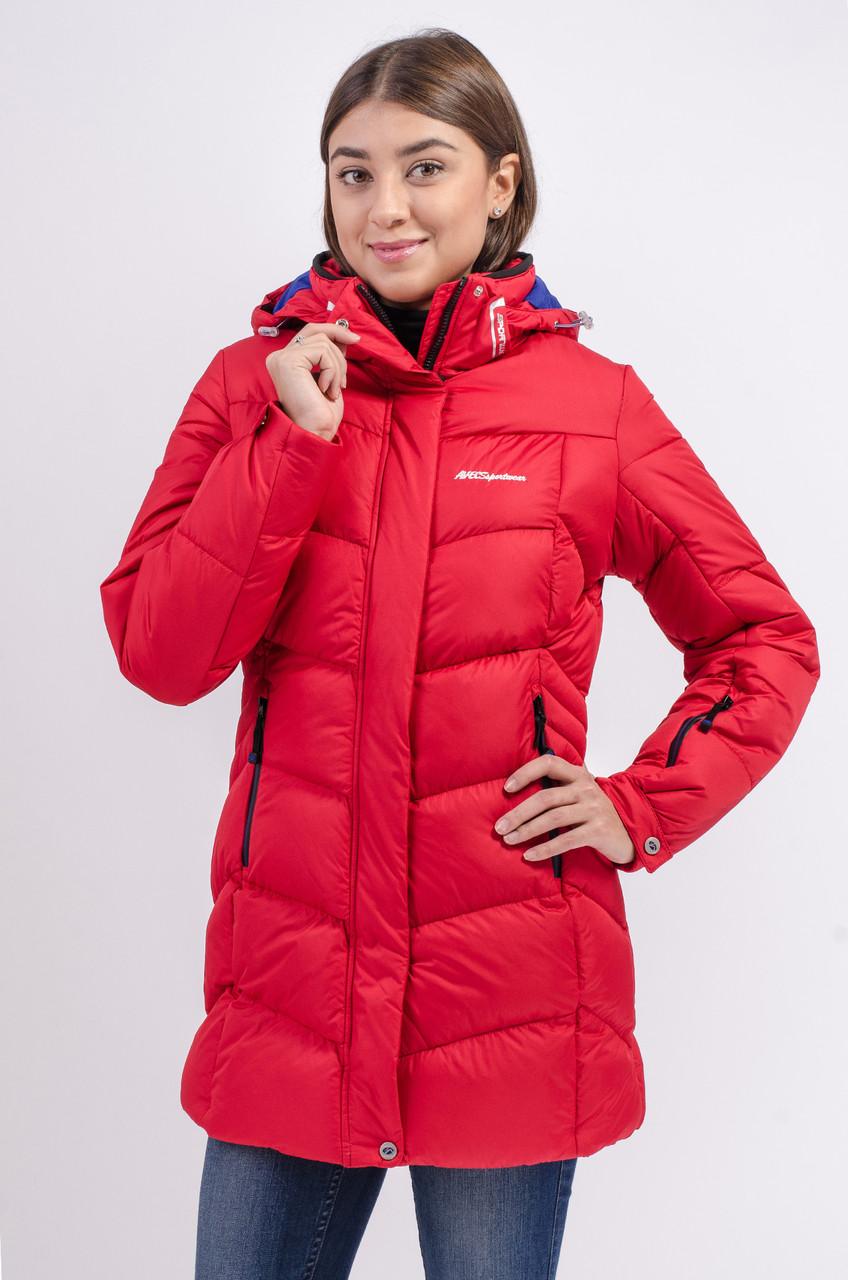 Зимняя куртка женская Avecs 7749811 красный