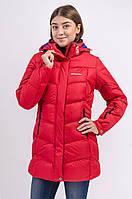 Зимняя куртка женская распродажа Avecs  красный 42 (XS)