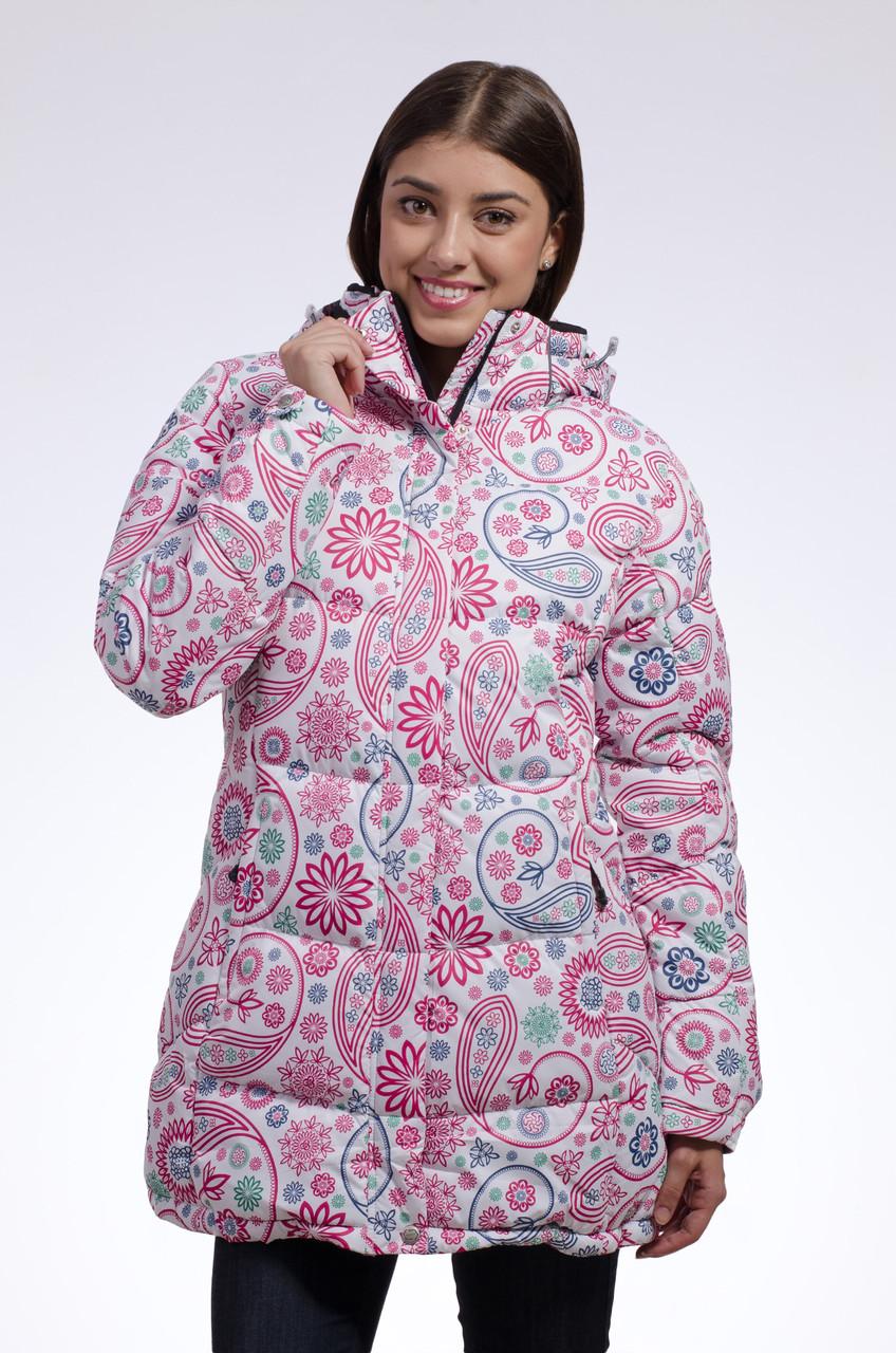 Зимняя куртка женская Avecs 7739685 розовый