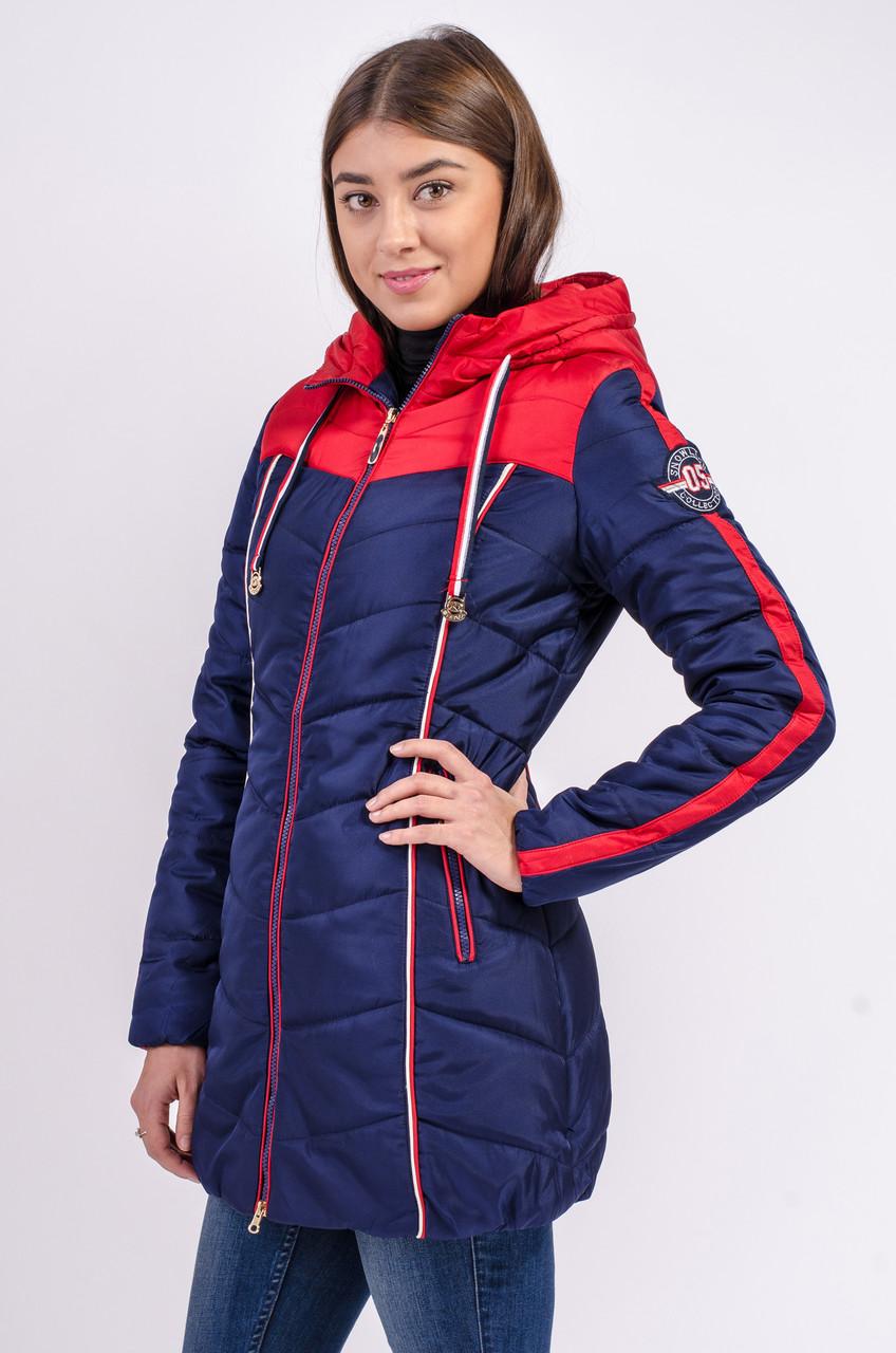 Зимняя куртка женская Avecs 148 темно-синий