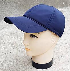 Мужская демисезонная кепка Klaus Плащевка Синяя(382 МД) L