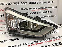 Hyundai Santa Fe 2012-2015 фара правая Xenon