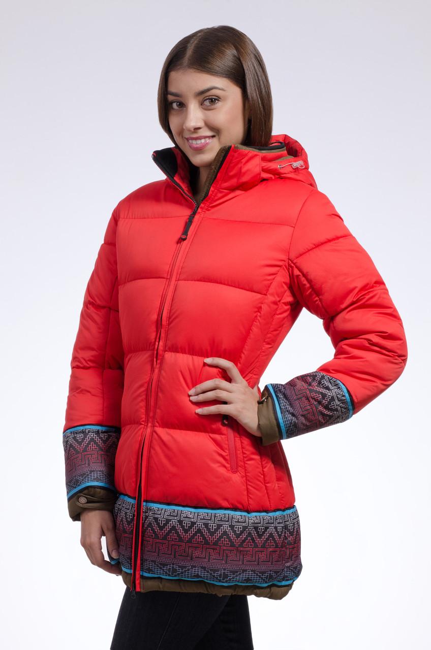 Зимняя куртка женская Avecs 7739683 красный