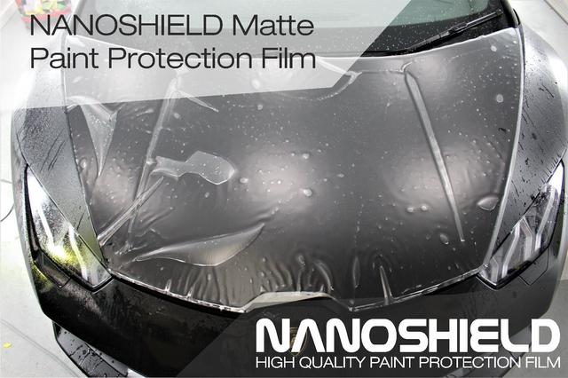 Nanoshield matte paint protection film антигравийная пленка