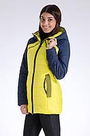 Куртка женская демисезонная распродажа Avecs желтый 48 (L)