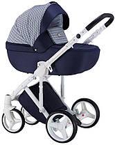 Дитяча універсальна коляска 2 в 1 Adamex Luciano Deluxe Q203