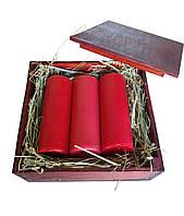 Набор свечей в подарочной упаковке