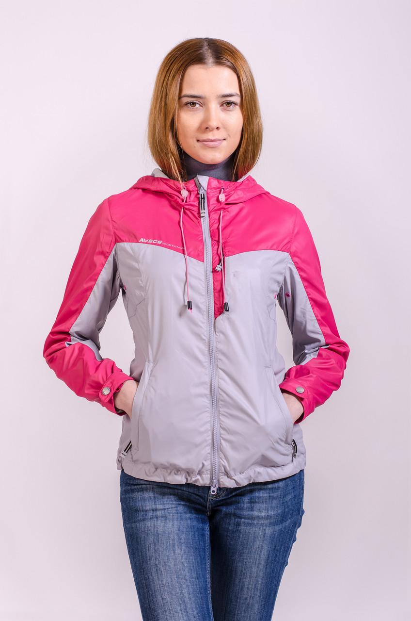 Куртка женская ветровка Avecs розовый L