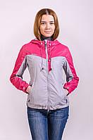 Куртка женская ветровка распродажа Avecs розовый