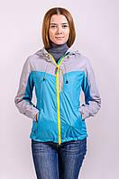 Куртка женская ветровка распродажа Avecs голубой