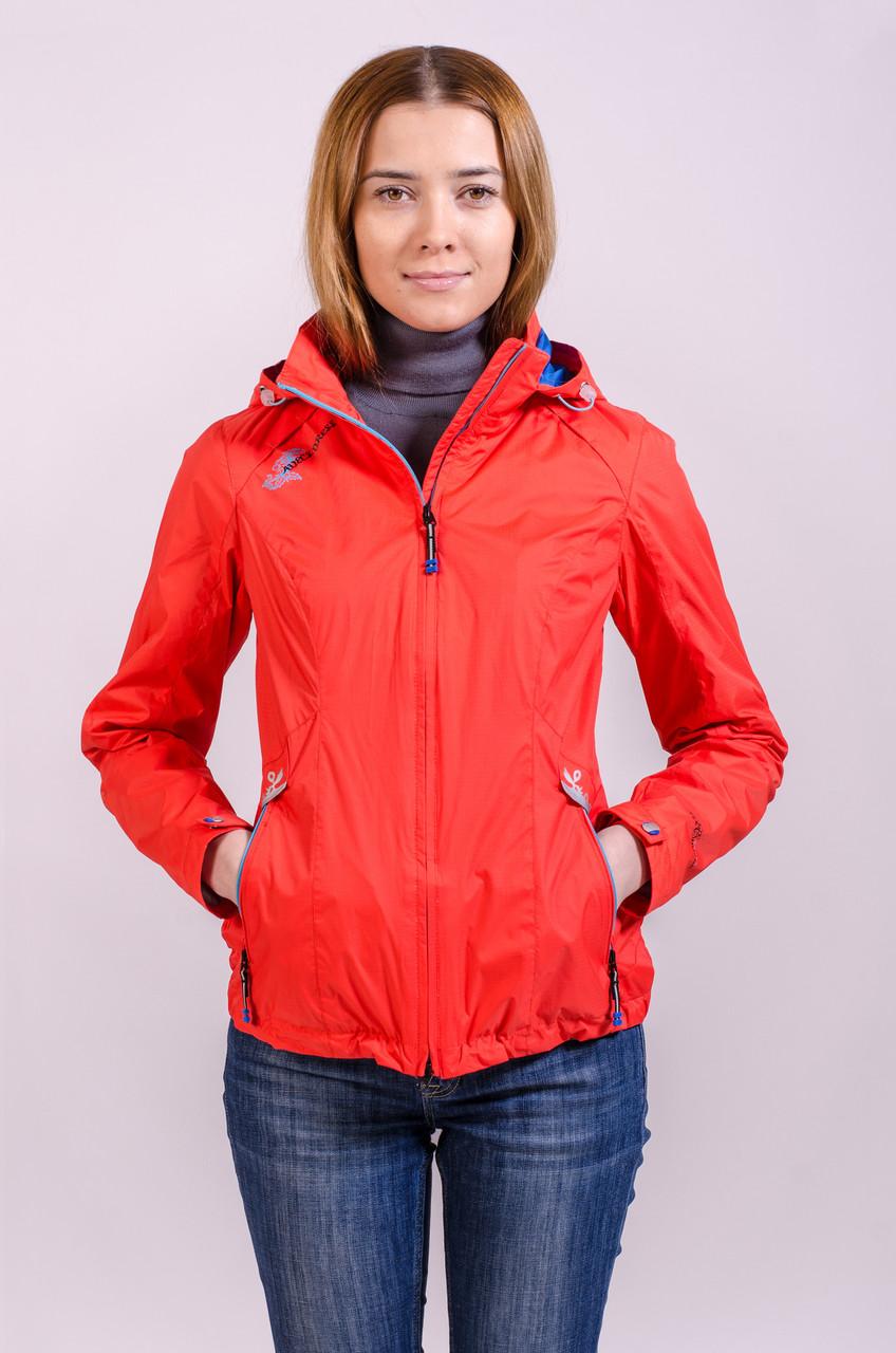 Куртка женская ветровка распродажа Avecs оранжевый