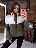 Курточка женская. Утепленная женская курточка. Стильная женская курточка. Женская одежда