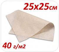 Подпергамент пищевой под пиццу 25Х25СМ 40 Г/М2