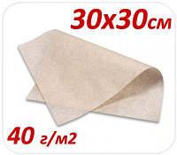 Подпергамент пищевой под пиццу 30Х30СМ 40 Г/М2