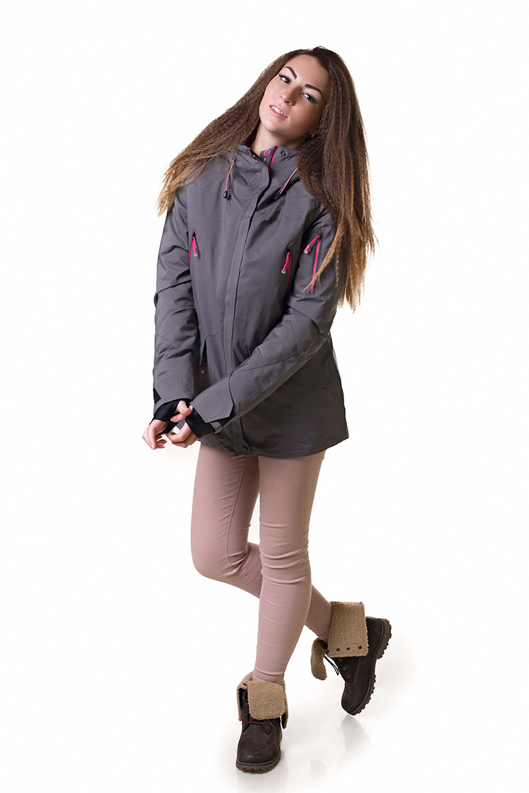 Горнолыжная куртка женская Avecs 5766462 серый