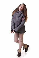Горнолыжная куртка женская распродажа AV-5766462 серый