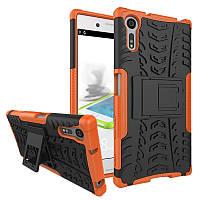 Чехол Armor Case для Sony Xperia XZ F8331 / F8332 (5.2 дюйма) Оранжевый
