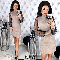 Платье женское ЕФ/-342 - Розовый, фото 1