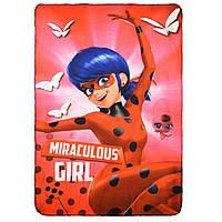 Плед Disney Miraculous Ladybug (Леди Баг и Супер-Кот) 100*150 см Разноцвет HS42392