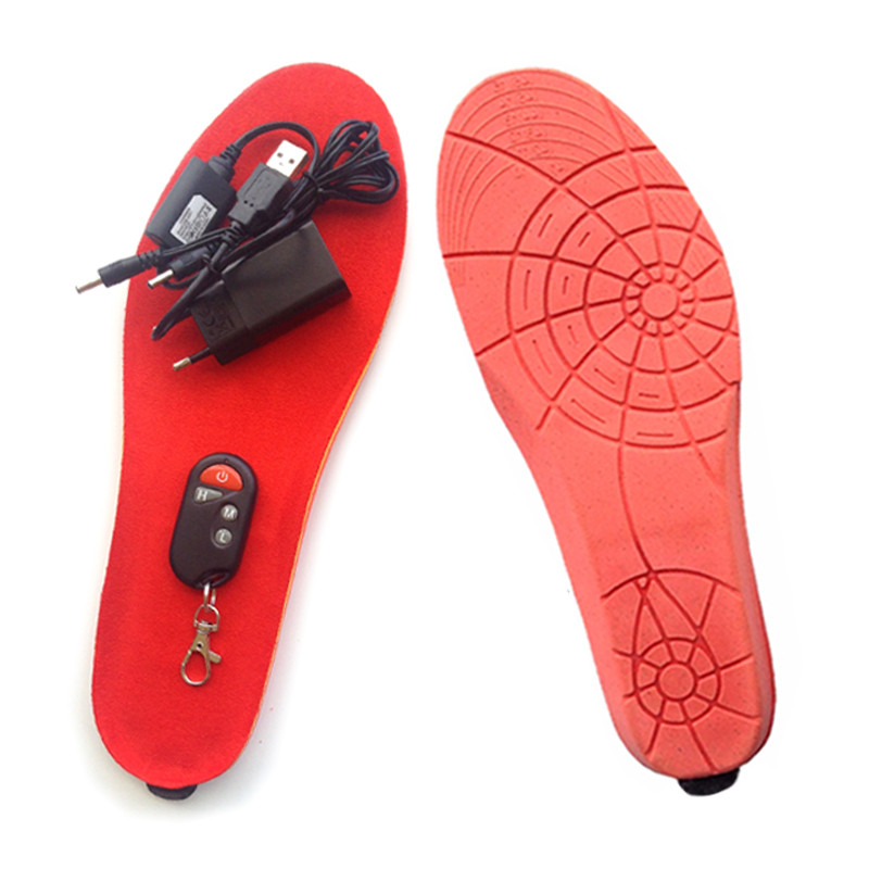 Стельки с подогревом беспроводные радиоуправляемые на пульту Ultra-sport 1800
