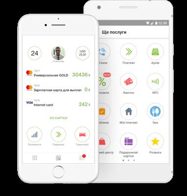 Як здійснити безготівкову оплату на рахунок підприємства для altorg.com.ua через мобільний додаток