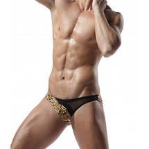 Мужские леопардовые трусы плавки Denny, фото 3