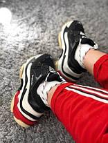 Женские кроссовки в стиле Balenciaga Triple S Black/Red, фото 3