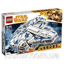 LEGO Star Wars 75212 Конструктор Лего Сокол Тысячелетия на Дуге Кесселя 1414 деталей