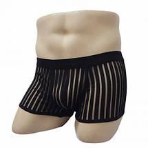 Мужские сексуальные прозрачные трусы боксеры Versal, фото 2