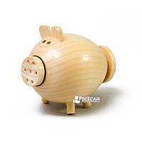 Солонка деревянная (свинка) для росписи и декупажа