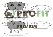 Сделано в Чехии Колодки передние торм. диск. PREMIUM AUDI A6 04-11. A8 02-10. VW PHAETON 02-