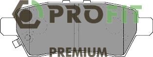 Сделано в Чехии Колодки задние торм. диск. PREMIUM NISSAN NAVARA 04-. PATHFINDER 05-