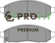 Сделано в Чехии Колодки передние торм. диск. PREMIUM NISSAN NAVARA 04-. PATHFINDER 05-