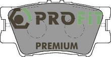 Сделано в Чехии Колодки задние торм. диск. PREMIUM TOYOTA CAMRY 06-. RAV4 06-