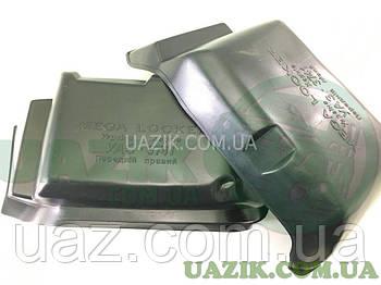 """Локери УАЗ 452 передні (к-т 2 шт.) """"MEGA"""" Захист арок, підкрилки"""
