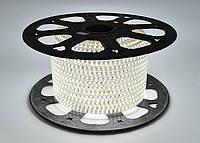 Светодиодная лента SMD 2835 (120 led/m) Slim IP68 Белая 220V Econom