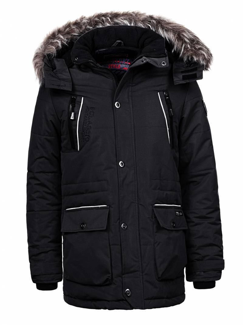 Куртка-парка теплая/зимняя мужская хаки