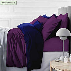 Комплект постельного белья двуспальный 175х210 Сатин 0001+4052 Morning Sea, фото 2