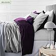 Комплект постельного белья двуспальный 175х210 Сатин 0001+4052 Morning Sea, фото 4